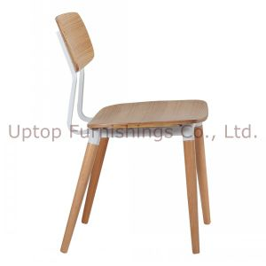 Factory Solid Wooden Furniture Restaurant Dining Leisure Chair (SP-EC602) pictures & photos