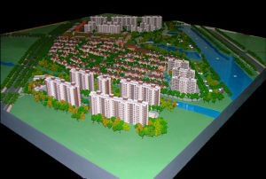 3D Architectural Scale Model_Residential Models (JW-119) pictures & photos