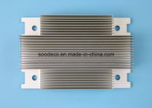 Aluminum Extruded Profile and CNC Machined Heat Sink pictures & photos