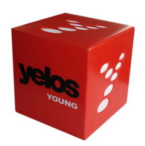 PU Antistress Cube with Custom Logo Printing pictures & photos