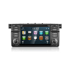Car DVD Player with GPS 3G Internet External Mic for BMW E46