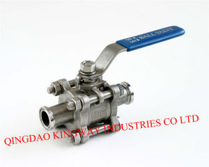 3-PC Clamp End Ball Valve, 1000psi / Pn63 pictures & photos