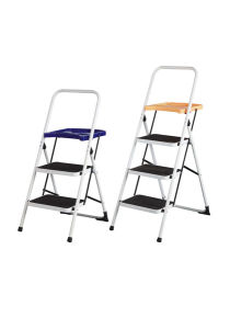 Top Quality Steel Step Ladder with En131 Approval pictures & photos