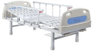 Two Cranks Manual Medical Bed (SK-MB107) pictures & photos