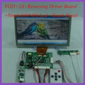 8inch TFT LCD Screen with Touch Screen High Brightness Display pictures & photos
