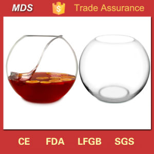 High Quality New Design Clear Glass Fish Bowl for Centerpieces pictures & photos