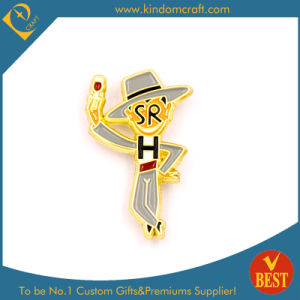 High Quality Custom Sr Metal Soft Enamel Pin Badge in Cartoon Style pictures & photos