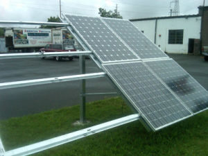 5000W Solar PV Mounting System/Solar Panel Mounting Structure/Standing Seam Roof Mounting Bracket pictures & photos