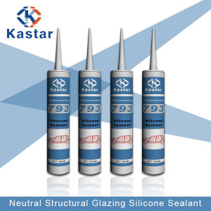 High Performance Mildew Resistant Clear Silicone Sealant (Kastar793) pictures & photos