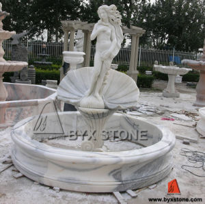 Marble Hand Carved Water Fountain for Outdoor Garden Decoration pictures & photos