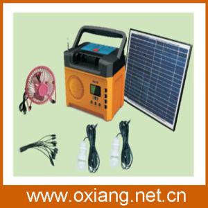 Mini Portable Solar Lighting System Built in FM Radio pictures & photos
