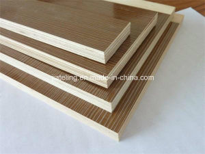 Three Time Hot Press Melamined Laminated Plywood, Furniture Plywood pictures & photos