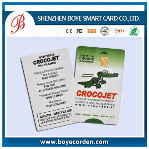 Contact IC Samrt Sle5542 Chip Card pictures & photos
