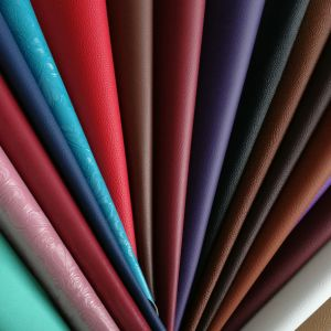 Z046 PVC Synthetic Leather for Shoes, Bags, Car, Furniture pictures & photos