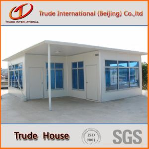 Steel Structure Prefabricated/Prefab/Modular Color Steel Sandwich Panels/Foam Cement House pictures & photos