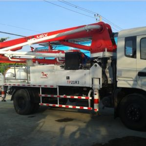 21m Concrete Pump with Boom, Truck Mounted Boom Pump pictures & photos