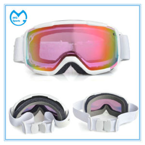 Pink PC Lens OEM Service Sporting Goods Snow Goggles New Arrival pictures & photos