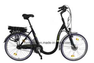 Electric Bike Bicycle Scooter Motorcycle Ce En15194 Vehicle Lower Down Tube for Old Man Riding pictures & photos
