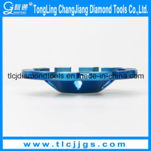 Double Rows Cup Concave Diamond Grinding Wheel pictures & photos