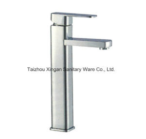 Quadrate Style Single Lever Higher Basin Faucet (16035)