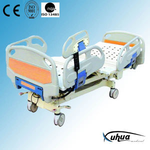 Motorized Hospital Bed, Five Functions Electric ICU Bed (XH-6) pictures & photos