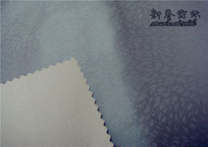 Polyester Dewspo Twill Fabric with Lamination Embossment pictures & photos