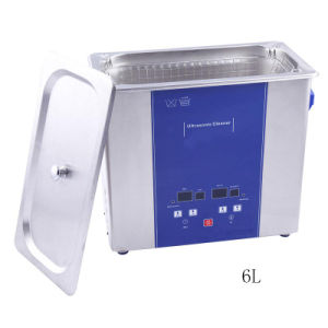 Heated Cleaning Equipment/Ultrasonic Cleaner with Timer Ud150sh-6L