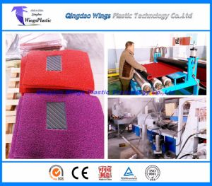 Plastic PVC Coil Cushion Mat Production Line / Extruder Machine / Making Machine / Extruder pictures & photos