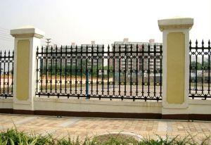 Garden Security Black Wrought Iron Fences Designs pictures & photos