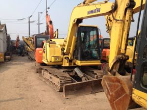 Used 6 Ton Mini Komatsu Hydraulic Crawler PC60-7 Excavator pictures & photos