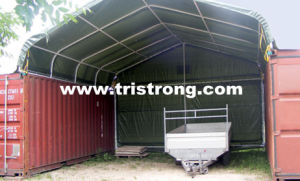 UV Resistant Waterproof Container Roof Container Canopy (TSU-2020C/TSU-2040C) pictures & photos