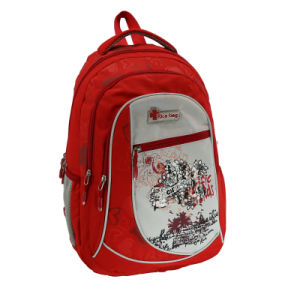 School Sports Backpack Fashion Printing Bag pictures & photos
