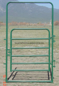 Galvanized and Powder Coating Cattle Farm Used Farm Gate pictures & photos