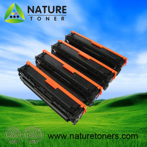 Color Toner Cartridge for HP CB540A, CB541A, CB542A, CB543A pictures & photos