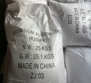 Factory Supply High Quality K2sif6 98% Potassium Silicofluoride pictures & photos