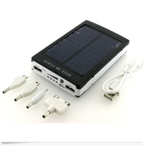 Dual USB Portable Solar Power Bank Battery Charger 6000mAh