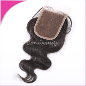 Brazilian Virgin Hair Wholesale Body Wave Lace Closure pictures & photos