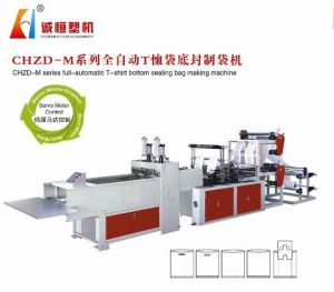 Full-Automatic Hot-Sealing & Cold-Cutting T-Shirt Bag (Vest Bag) Bag Making Machine pictures & photos