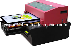 Low Cost A2 Small Size UV Flatbed Printer pictures & photos