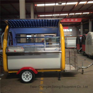 High Quality Customized Food Cart Made in China pictures & photos