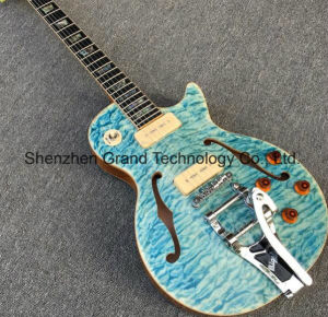 Es335 Electric Guitar with Bigsby and Ebony Fretboard (TJ-246) pictures & photos