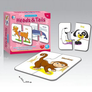 Education 15PCS Paper Aninal Jigsaw Puzzle Puzzle Game with En71 (10214748) pictures & photos