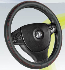 Auto Accessory Steering Wheel Covers, PVC with PU Steering Wheel Cover (BT7237C) pictures & photos
