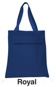 Custom Colorful Cheap Casual Canvas Shopping Bags pictures & photos