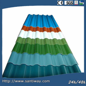 Colorful Roof and Wall Panel Steel Roof Decorative Sheet Tile pictures & photos