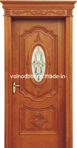 The Solid Wooden Door Glass Door French Door pictures & photos