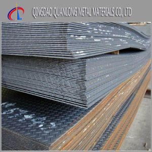 S235jr Hot Rolled Carbon Checkered Steel Plate pictures & photos