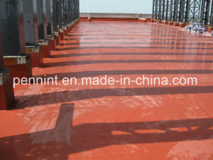 Red Polyurethane Waterproof Coating for Roof Deck/Underground Structure pictures & photos