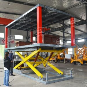 3.5t 3m Hydraulic Car Lift Elevator Used for Villa pictures & photos