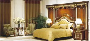 Luxury Star Hotel President and Antique Bedroom Furniture Sets (GLB-019) pictures & photos
